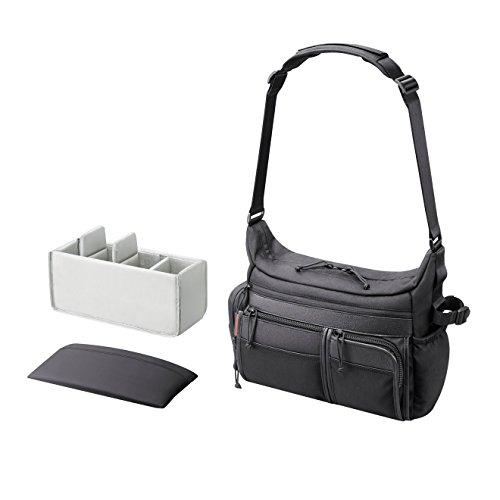Sony LCS-PSC7B - Bolsa de Transporte Blanda, Negro