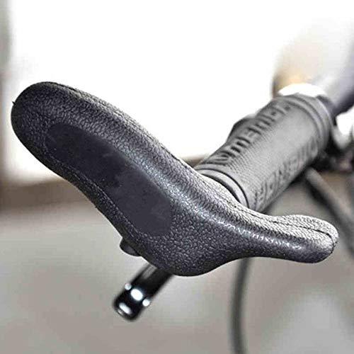 Ergonomische Fahrradhandleb-Fahrradabdeckung für Mountainbike-Schraubstock für Lenkerenden Fahrradfahrrad Kleiner Zusatzlenker