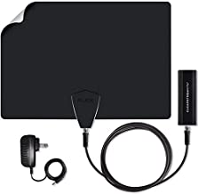 Antennas Direct ClearStream Flex Indoor Wireless TV Antenna, 40+ Mile Range, WiFi Network Compatible, Record and Pause Live TV, Free App, Channel Guide, No Cables to The TV - CTVFLEX