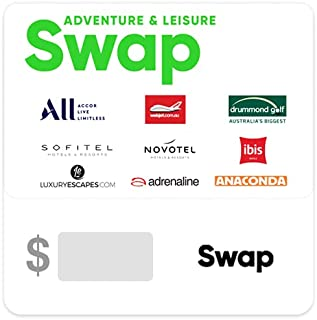Swap Adventure and Leisure Gift Card - Delivered via email