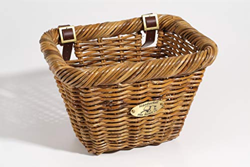 For Sale! Nantucket Bike Basket Co Rectangular Lt. Brown Basket