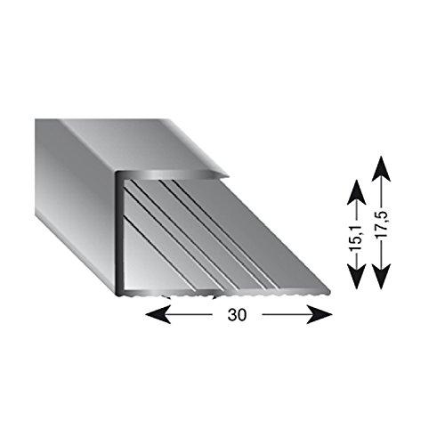 Kügele 11150 SD 100 Gleitabschlussprofil U Alu sand eloxiert 15/1000 mm