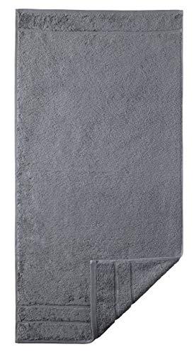 Egeria 25001 Prestige Duschtuch, Baumwolle, stone, Größe 75 x 160 cm