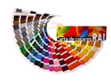 Carta de colores RAL Estándar. Paleta de colores profesional....