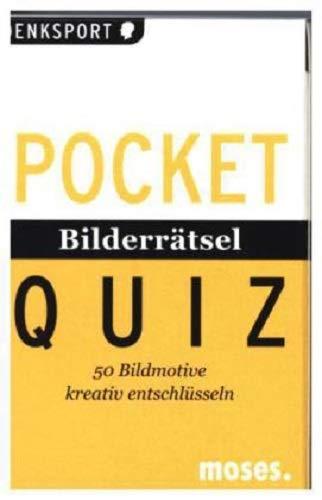 Pocket Quiz Bilderrätsel: 50 Bildmotive kreativ entschlüsseln (Pocket Quiz / Ab 12 Jahre /Erwachsene)