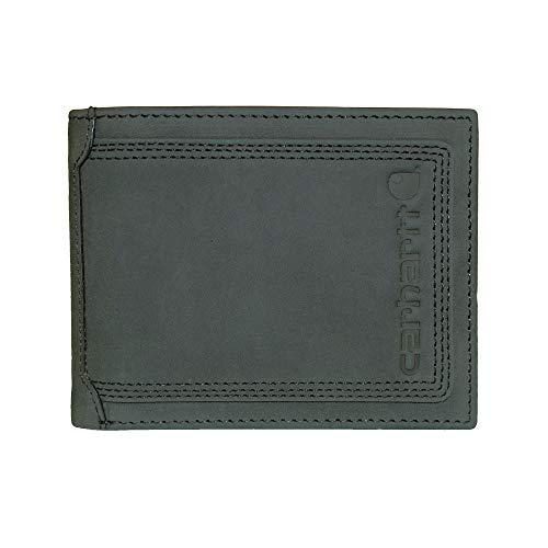 Carhartt Men's Billfold Wallet, Black Contrast, One Size