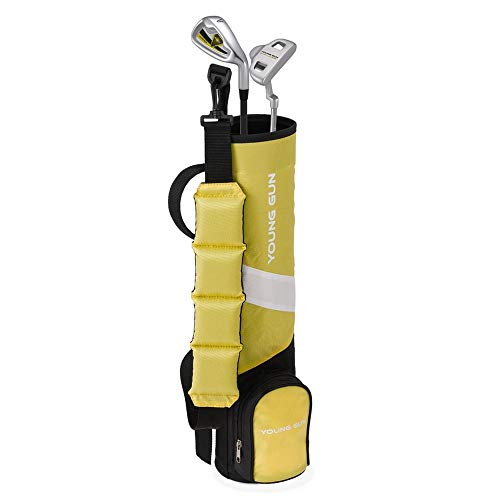 Young Gun ZAAP BIRDIE Junior golf club Youth Set bag for kids YELLOW Ages 3 5