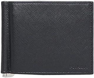 [プラダ] マネークリップ式 メンズ財布 メンズサイフ サフィアーノ 牛革 ブラック 2MN077 SAFFIANO NERO 053 F0002 [並行輸入品]