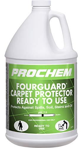 Prochem - Fourguard - Carpet Protector RTU - Teflon Carpet & Upholstery Protector - 1 Gallon B130