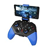 Controller Wireless per Android iOS, PowerLead PG8721 Joystick Wireless Turbo Combo Mappatura Tasti...