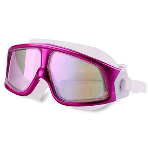 MHP Bont gecoate veiligheidsbril voor Big Box met gecoate zwembril tegen beslag, waterdicht gepolariseerd, rood 3