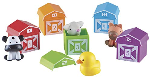 Learning Resources Peekaboo Learning Farm, Counting, Matching & Sorting Toy,...