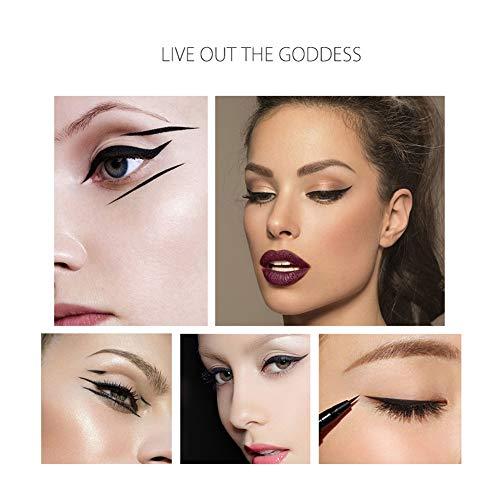 weixinbuy Super Eyeliner Imperméable Smudge-preuve Fast Dry Maquillage Eye Cat Noir Couleur, Great Choice.