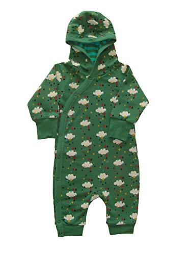 Little Green Radicals Gemütlicher Baby u. Kinder Anzug grün Regen Bio Gr.50/56