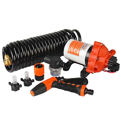 SEAFLO 33 Series Washdown Deck Wash Pump KIT 12v 70 PSI 3.0 GPM for Rv...