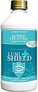 Lumi Shield Plus, AREDS 2 Comprehensive Eye Vitamin Formula w/Lutein Meso-zeaxanthin & Zeaxanthin Dr. Formulated Vision Health Supplement Macular Support, Peppermint Flavor, 16 oz