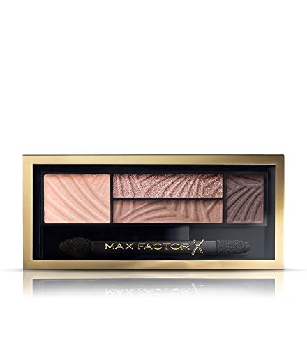 Max Factor Smokey Eye Drama Kit Opulent Nudes 01 – Lidschatten-Palette mit 4 neutralen Tönen mit...