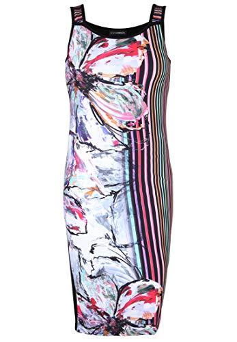 Doris Streich Damen Kleid mit Print mit Muster-Mix