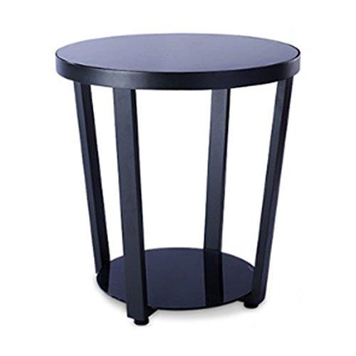 NUBAO Beistelltisch Couchtisch Ecken Winkelbewegungen Mehrere Ecken Mit Einfassung Tisch Schränke Seitenschränke Gehärtetes Glas Kleine Couchtisch Sofas Eckig