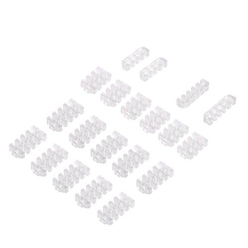 Silverstone SST-PP09 - acheminement Des câbles gainés, Polycarbonate Transparent robuste (PC), assemblable pour créer Des Tailles Variables
