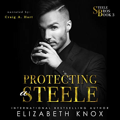 Protecting a Steele audiobook cover art