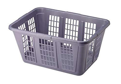 Rubbermaid 1.65 BU Laundry Basket, Bushel, Blue