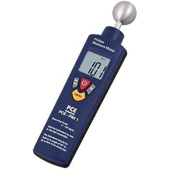PCE Instruments PCE-PMI 1 Feuchtemessgerät/Feuchtemesser/Materialfeuchtemesser/Material-Feuchtemessgerät zur Feuchte-Messungen von Beton, Holz, Putz, Mörtel usw.