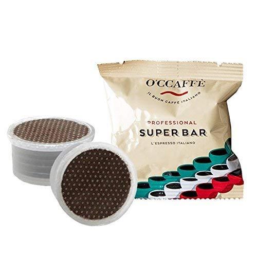 O'CCAFFÈ – Super Bar   Capsule FAP compatibili Lavazza Espresso Point   100 pezzi   Tostatura lenta a tamburo da azienda italiana a conduzione familiare