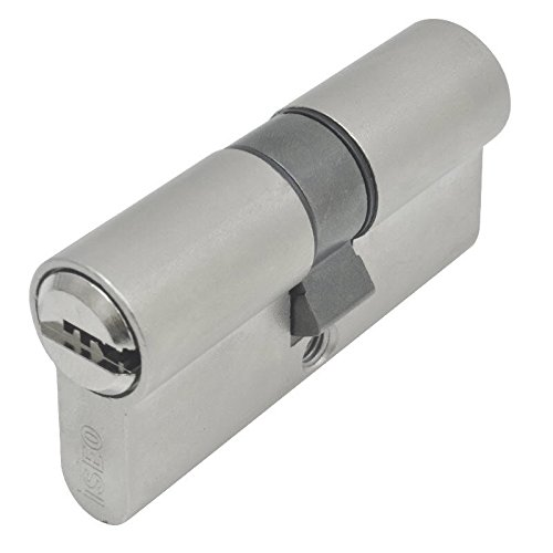 Iseo 880930509.5 Bombillo de seguridad, leva larga (níquel