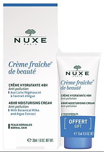 Nuxe Crème Fraîche de Beauté Crème Riche Hydratante 48H 30 ml + 15 ml Offert