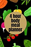 4 Hour Body Meal Planner: interactive meal planner,low carb high protein meal planner,printable meal planner and grocery list,cooking merit badge meal planner