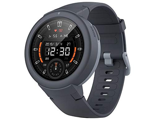 Amazfit Verge Lite Pelacak Kebugaran Bluetooth Smartwatch (Shark Grey)