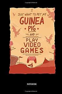 Notebook: Guinea Pigs & Video Games - Lined Guinea Pig Notebook / Journal. Great Guinea Pig Accessories & Novelty Gamer Gift Idea for all Piggy Lover.