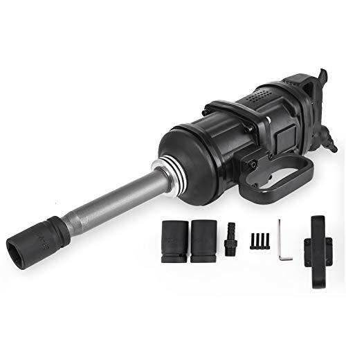 Mophorn Llave de Impacto Neumática Aire Profesional 4800N.m Pistola de Impacto Electrica Kits Air Impact Wrench Gun