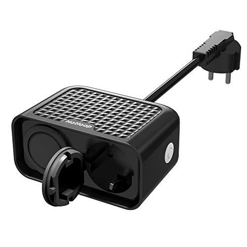 Alexa - Enchufe inteligente impermeable con wifi, compatible con Siri, Alexa, Google Assistant, 2,4 GHz