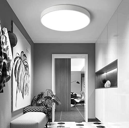 Sweet LED Deckenleuchte, Bürodeckenleuchte Badezimmerleuchte Badezimmerlampe, Innenleuchte IP44 Spritzwassergeschützt, Weiß 18W 120° Abstrahlwinkel [Energieklasse A+]
