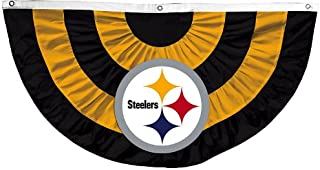 Team Sports America NFL Pittsburgh Steelers Celebration Bunting kit, Large, Multicolored