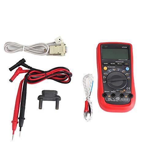 Digitalmultimeter , Digitalmultimeter Spannung Stromwiderstand Kapazitätstester Amperemeter , unterstützt RS-232C- und USB-Kabel