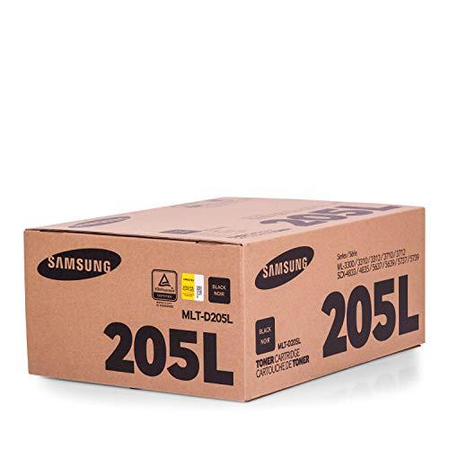 Original Samsung MLT-D205L / 205L, für ML-3310 Series Premium Drucker-Kartusche, Schwarz, 5000 Seiten