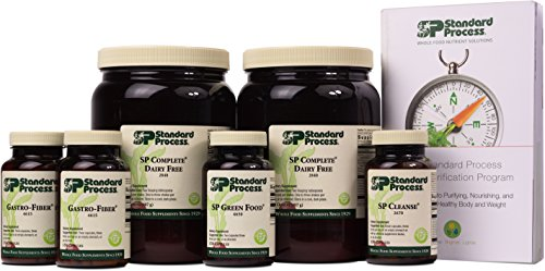 Standard Process Purification Kit with SP Complete Dairy Free and Gastro-Fiber - Weight Management and Detox and Liver Support with Milk Thistle, Rice Protein, Fiber, Choline, and Calcium