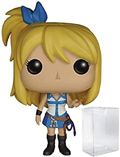 Funko Pop! Anime: Fairy Tail - Lucy Vinyl Figure (Includes Compatible Pop Box Protector Case)