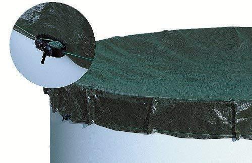 Unbekannt Abdeckplane achtform/ovalform 3,60 m x 6,25 m Schwimmbad Pool Abdeckung