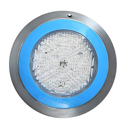 DLGGO Piscina Luces de acero inoxidable luces subacuáticas