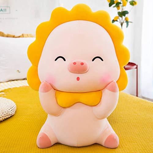 N-B Juguete de peluche Sun Flower Pig Doll Cama Niño Almohada para dormir Muñeca Super Suave Muñeca