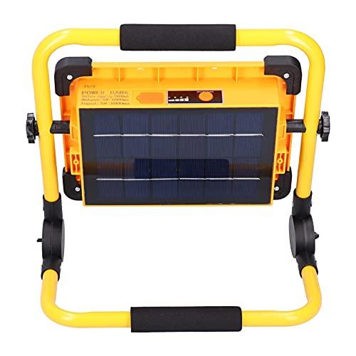 QIRG Luz de Trabajo LED, 8000LM 100W USB Recargable portátil de sobremesa Que acampa Seguridad Impermeable luz de inundación Lámpara de Trabajo de reparación de automóvil portátil para Exteriores