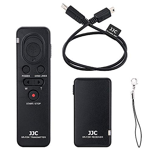 JJC Wireless Shutter Remote Control for Sony ZV-1 A1 A7III A7RIV A7RIII A7SIII A7RII A7SII A7II A9II A9 A6600 A6500 A6400 A6300 A6100 A6000 RX10 IV III RX100 VII VI VA V IV III Replac RMT-VP1K RM-VPR1