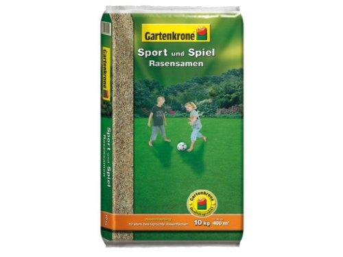 Gartenkrone Sport und Spielrasen 10 kg