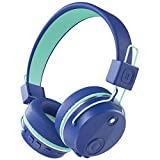 PeohZarr Kids Active Noise Cancelling Wireless Headphones with Microphone, 94dB Kids Bluetooth On-Ear Headphones for Boys Girls Kids Teens, 25 hrs Playtime, Foldable Stereo Sound headphones for School