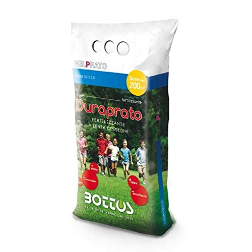 Engrais fertilisant pour pelouse Bottos Duraprato 15-5-5-5 kg