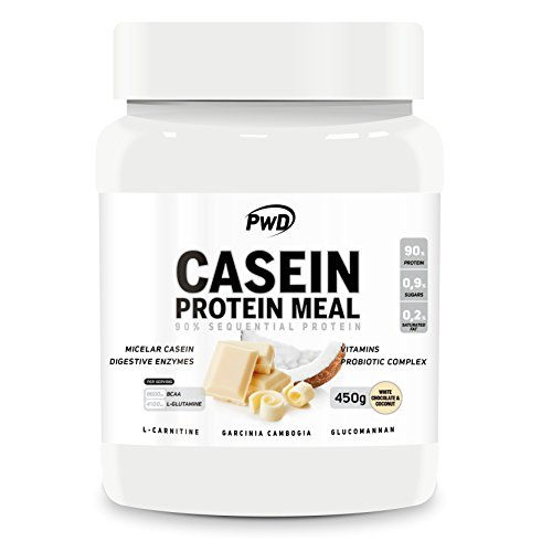 Casein Protein Meal (White Chocolate & Coconut, 450gr.)